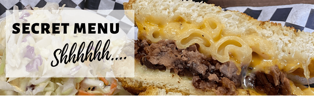 Brisket mac 'n cheese sandwich